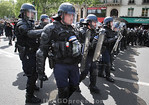 France - May Day Works in Paris